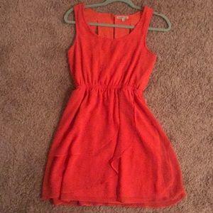 Charlotte Russe Dresses - Coral dress